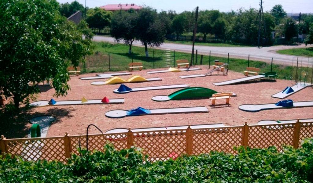 Мини-гольф-курорт «Галант»